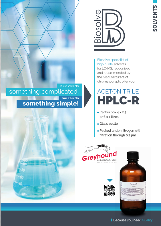 Biosolve HPLC Catalogue