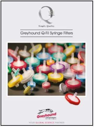 Greyhound Chromatography Syringe Filters