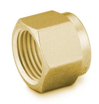 """Nut 1/4"""" Brass Swagelok"""