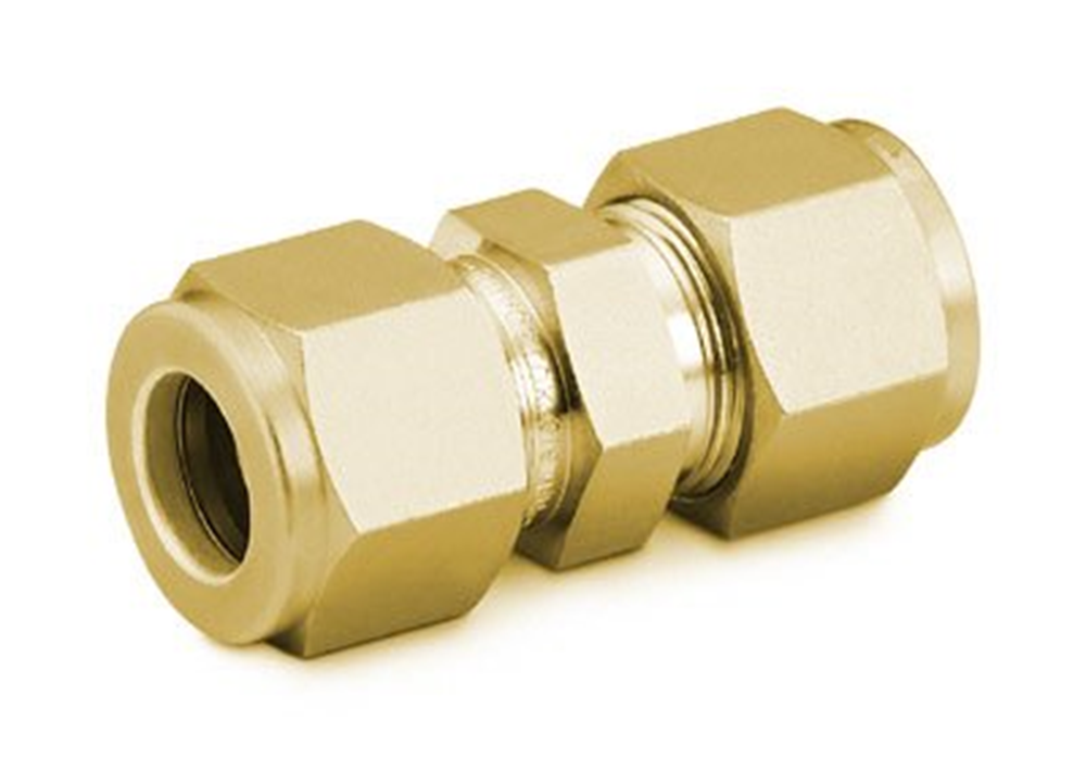 "Picture of Union 3/16"" Brass Swagelok"
