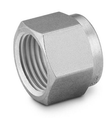 "Picture of Nut 1/4"" S/S Swagelok"