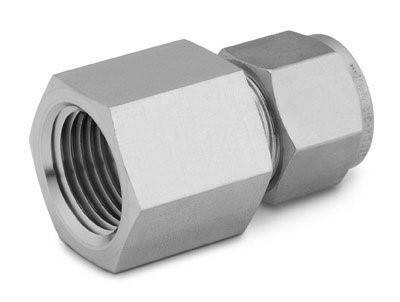 "Female NPT Connector 3/16""T-1/8""P S/S Swagelok"