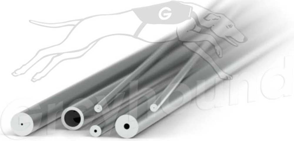 """Picture of Stainless Steel Tubing 1/16"""" x 0.030"""" (0.75mm) ID  x 5cm"""