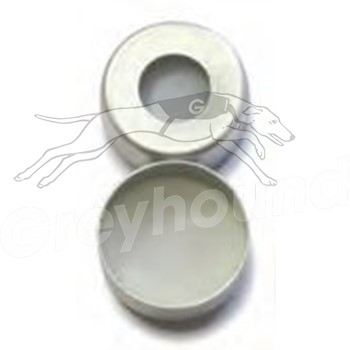 11mm Aluminium Crimp Cap with PTFE Liner and Silicone Sealing Ring