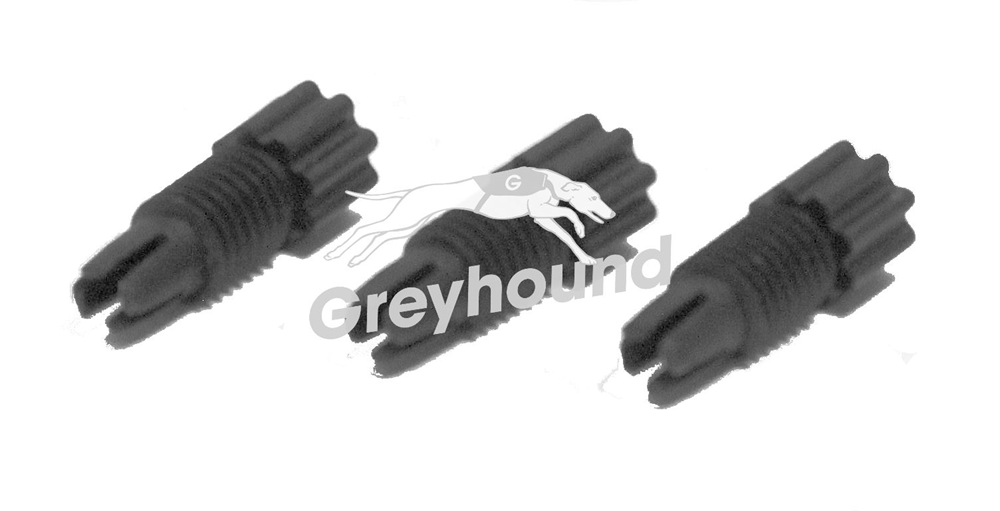 "Picture of Capillary connector fitting, black (1/8"") for 3,2 to 2 mm OD"