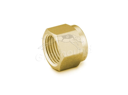 """Nut 1/8"""" Brass Swagelok"""